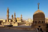 На крыше мечети Аль-Азхар.