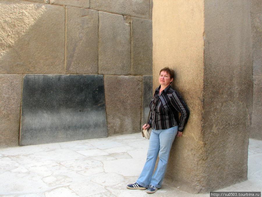 Внутри Гранитного храма (