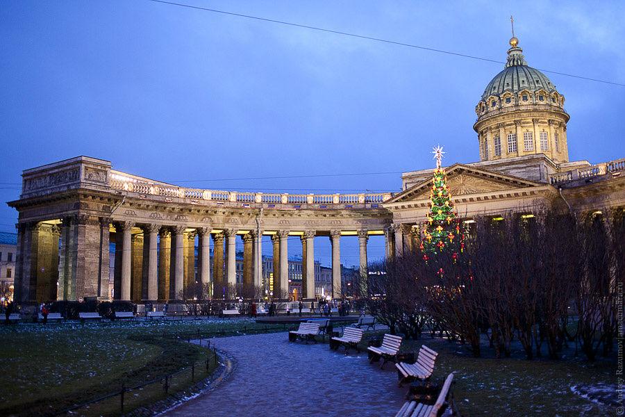 Санкт петербург зимой фото
