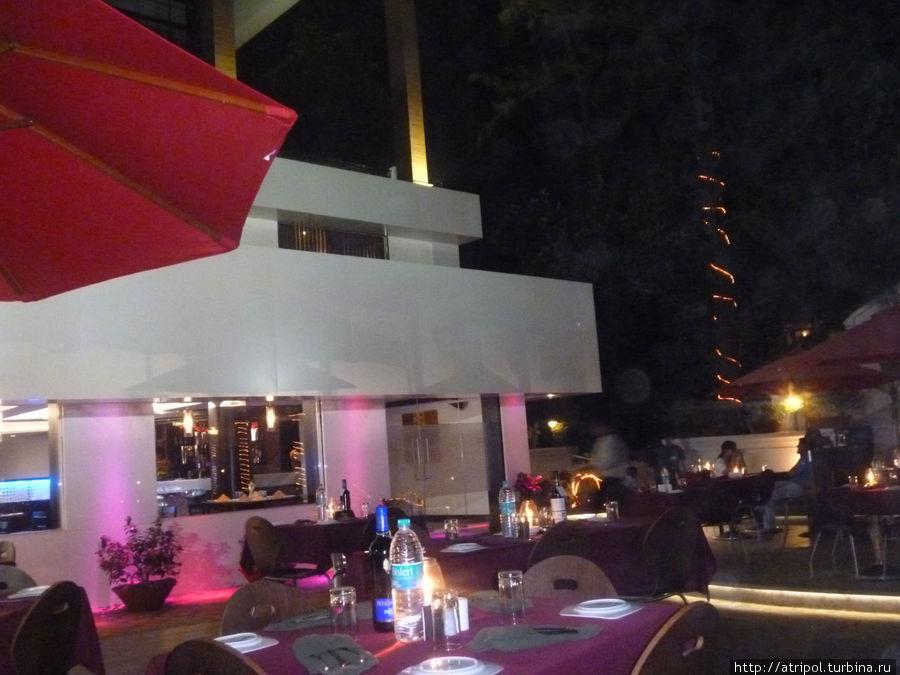 Изысканный и креативный ресторан в Калангут Тауэрс