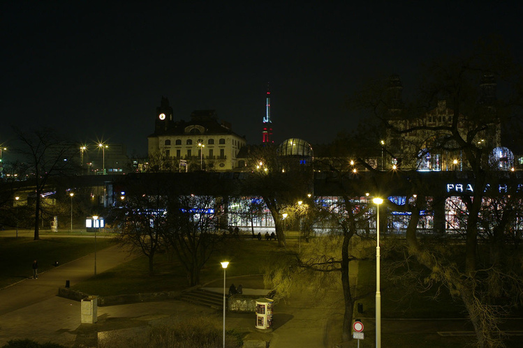 Вид из окна на Hlavní nád
