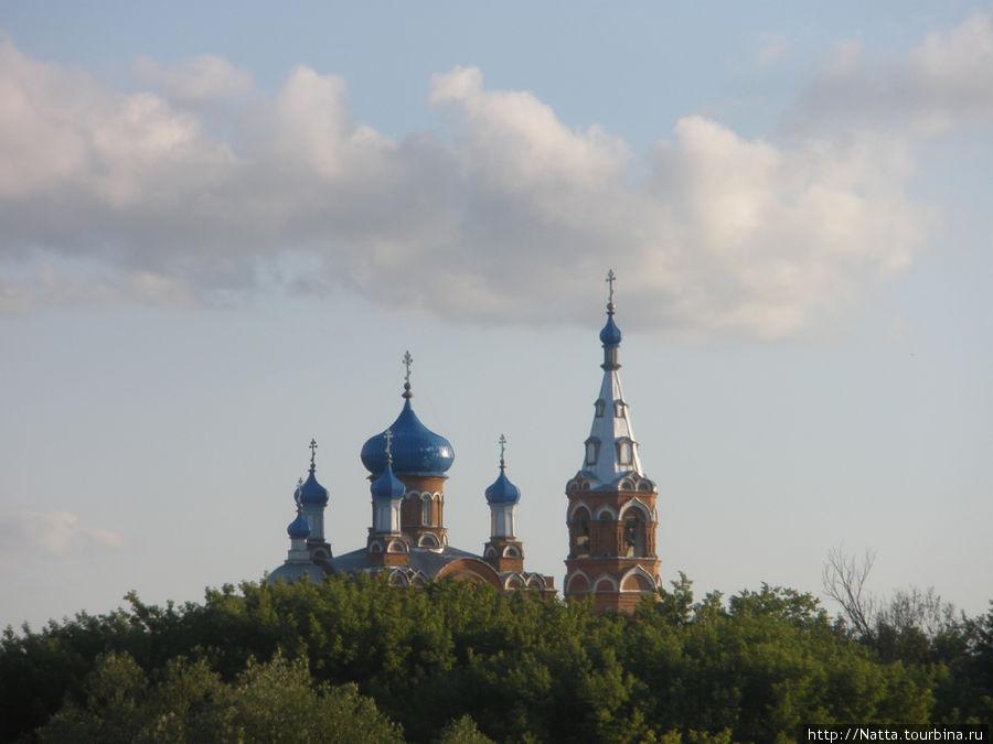 Казанский храм в селе Коробейниково