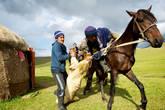 Одной из самых популярных является конно-спортивная борьба кокпар (в переводе означает «серый волк»), в которой среди всадников идет борьба за овладение тушей козла.