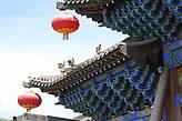 Крыша храма Шуанлиньсы