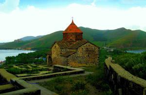 Так монастырь выглядит летом (фото из интернета).