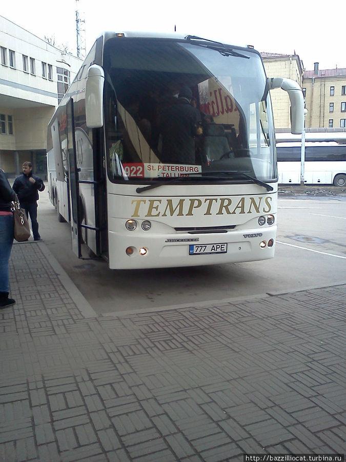 Новый перевозчик на линии Спб-Таллин Таллин, Эстония