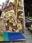 Ковры с портретом Иисуса Христа и Марии