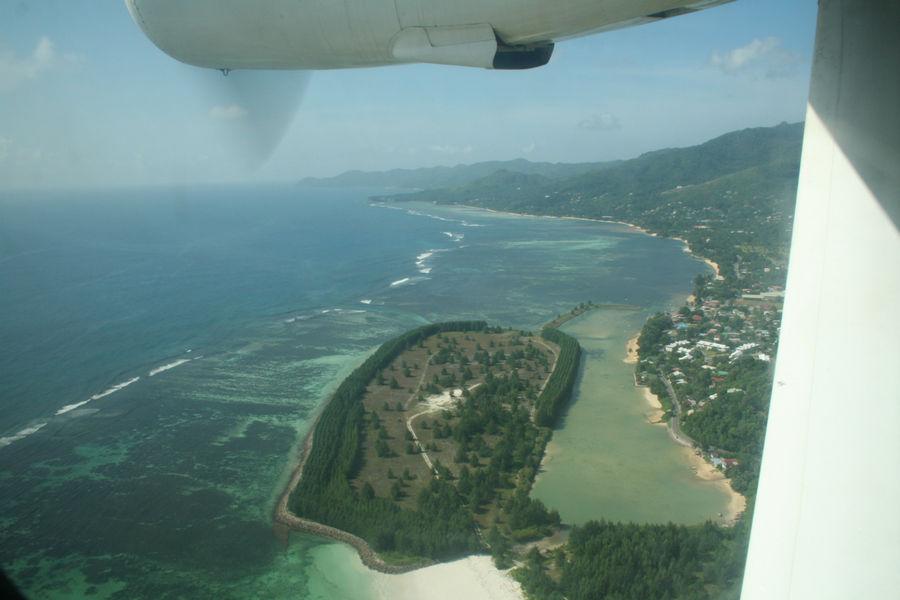 Вид на юг Маэ
