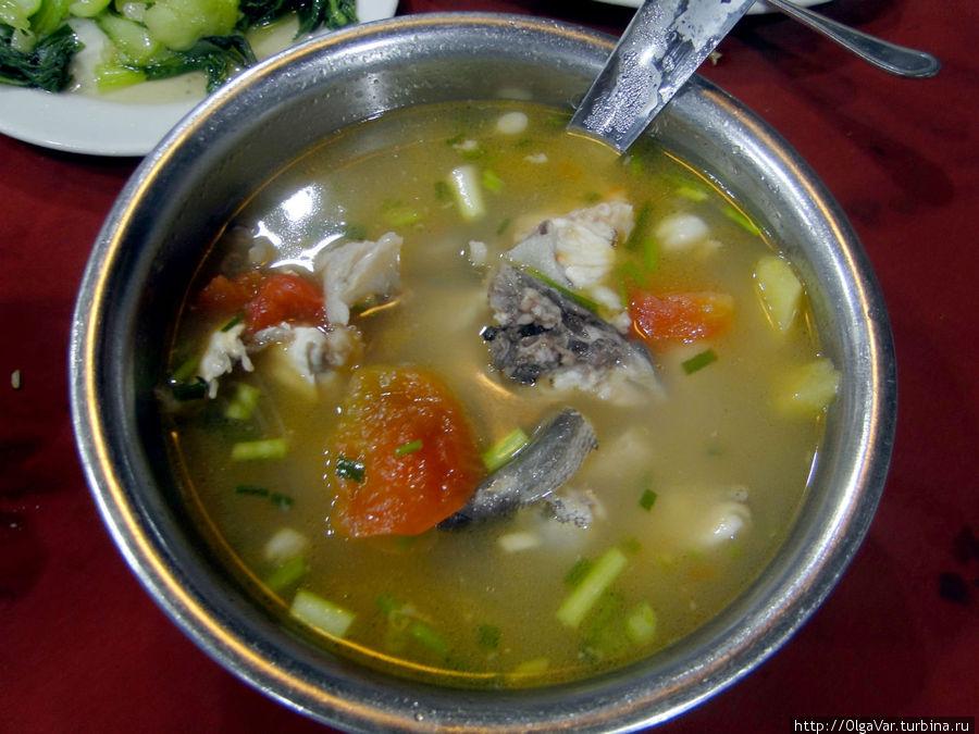 От такого супа никто не отказался