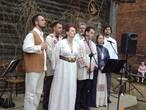 Византийское хоровое пение исполняется всем составом ансамбля