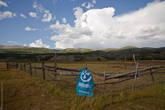 Турбина и вид на Южно-Чуйский хребет