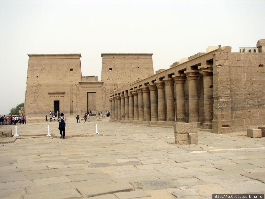 Храм Исиды на новом месте