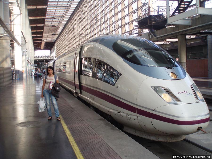 Скоростной поезд Мадрид-Барселона