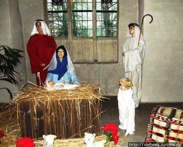 Рождественский вертеп в Кафедральном соборе Турку
