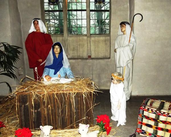 Рождественский вертеп в К