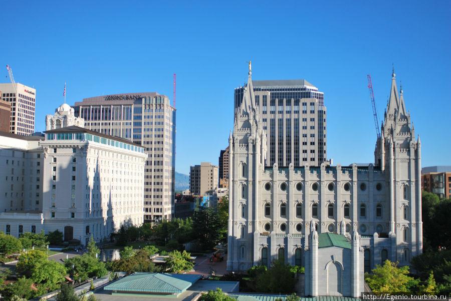 Мормонский Ватикан Солт-Лэйк-Сити, Соединенные Штаты Америки