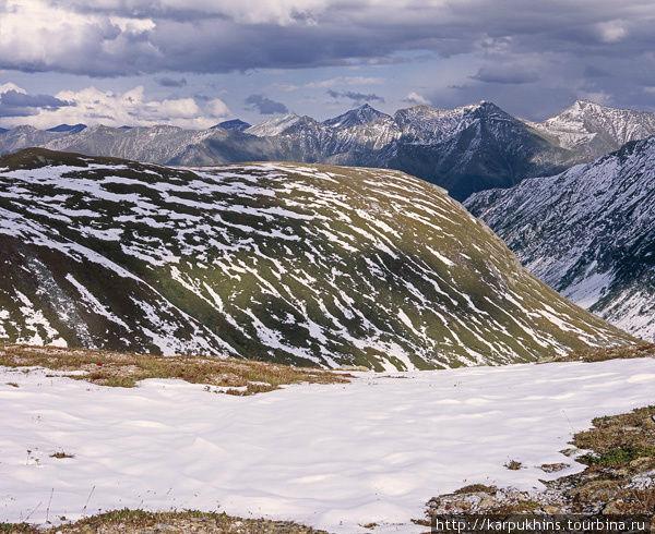 Перевал Орзагай — Большой Агул.