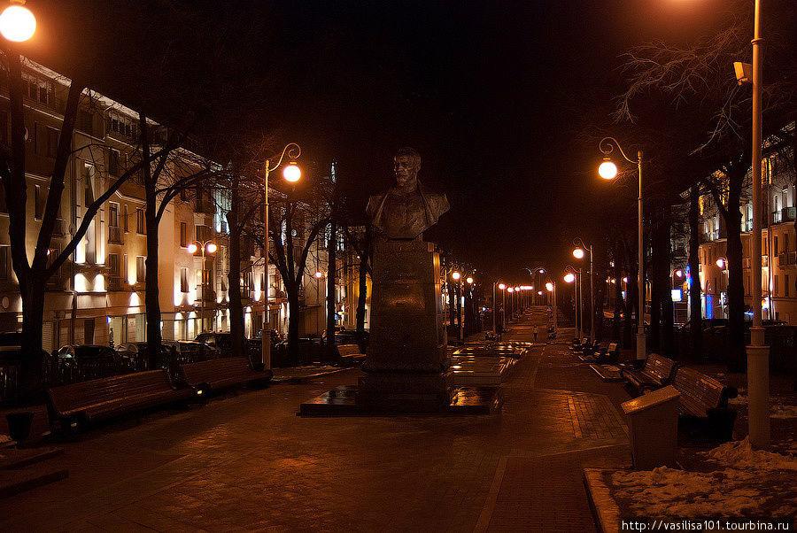 Бульвар на Комсомольской