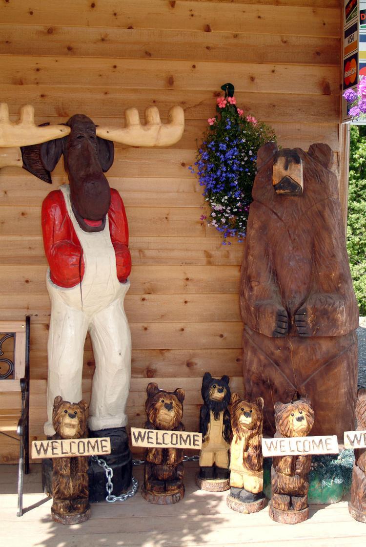 Сувениры по-аляскински: в