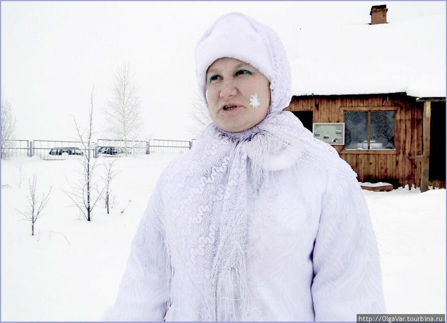 Поначалу Зима-матушка была серьезна, а как же иначе...