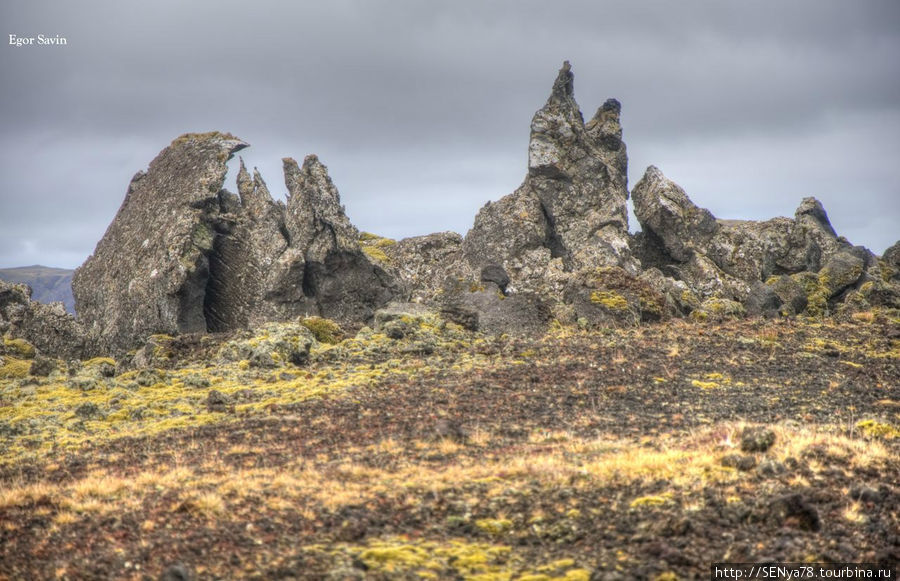 Besserkjahraun lava field