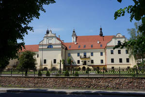 Костёл Францисканцев, строительство началось в конце 14 века