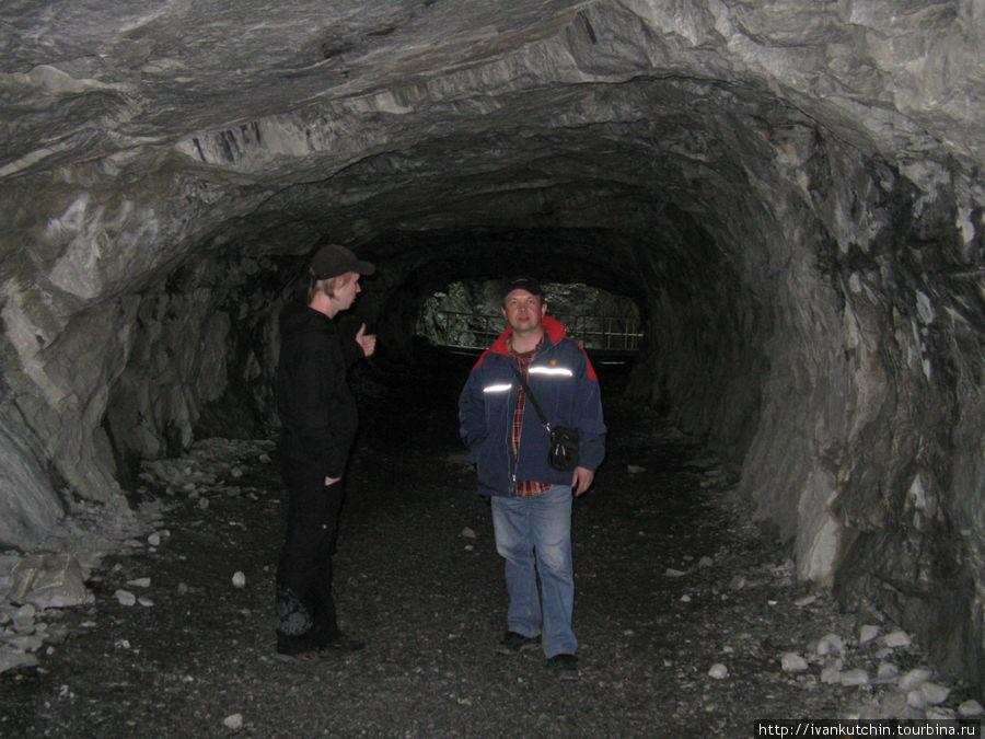 В рускеальских подземелья