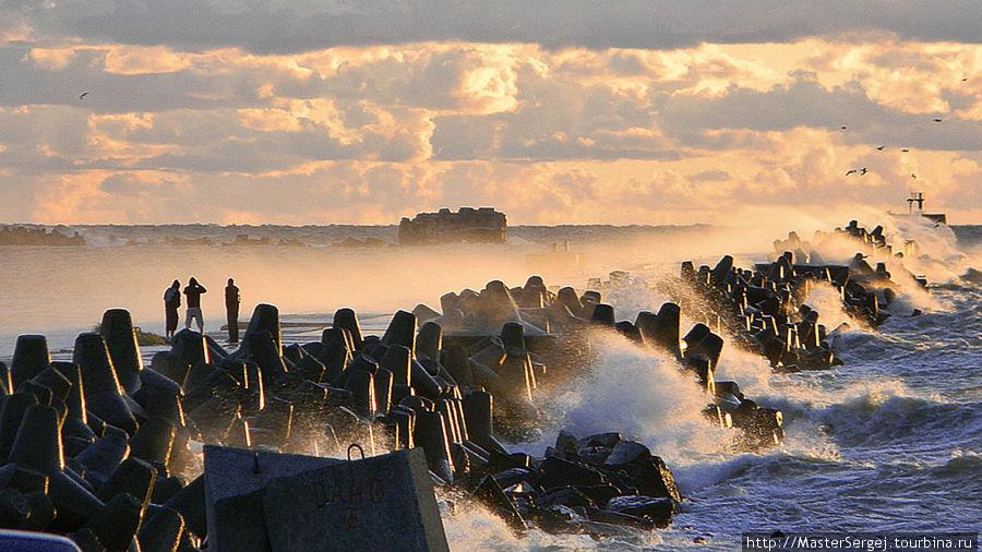 Берег балтийского моря. (район Кароста) Лиепая, Латвия