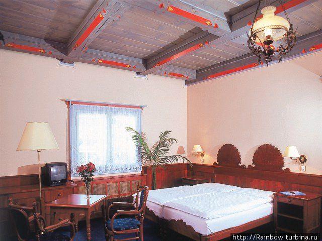 Так выглядит один из номеров отеля. Фото из интернета.