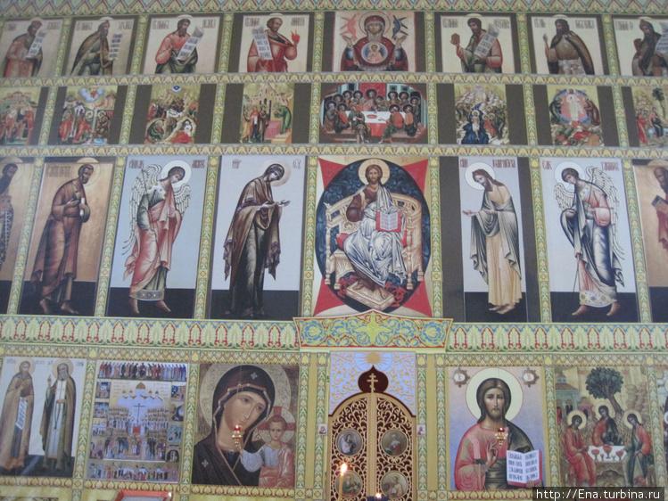 Иконостас Троицкого собор