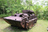 А это уже американский морской танк
