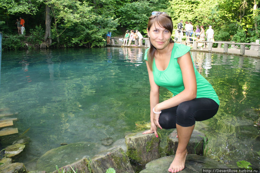 у Голубого озера, июль 2009г.