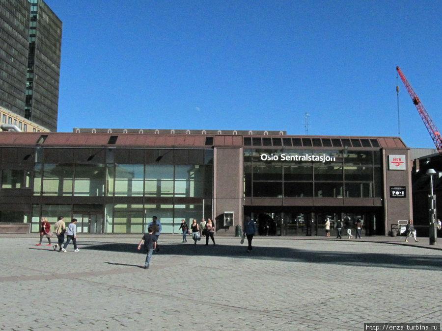 Центральный вокзал Осло, тот самый Oslo S.