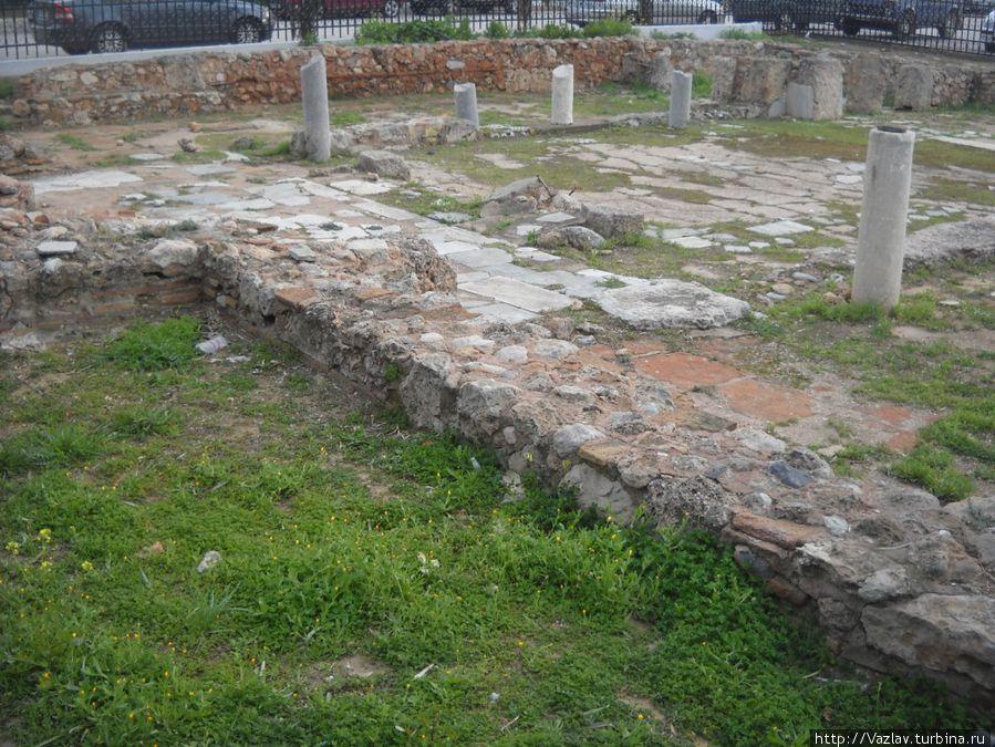 Территория бывшего храма