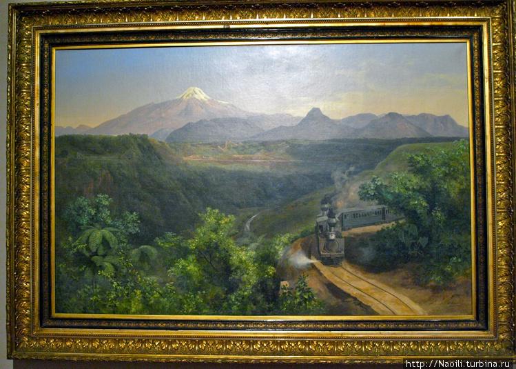 Ущелье Метлак,  1893