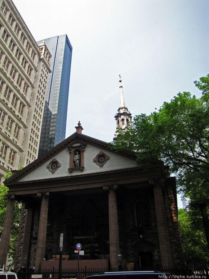 За церковью св. Павла