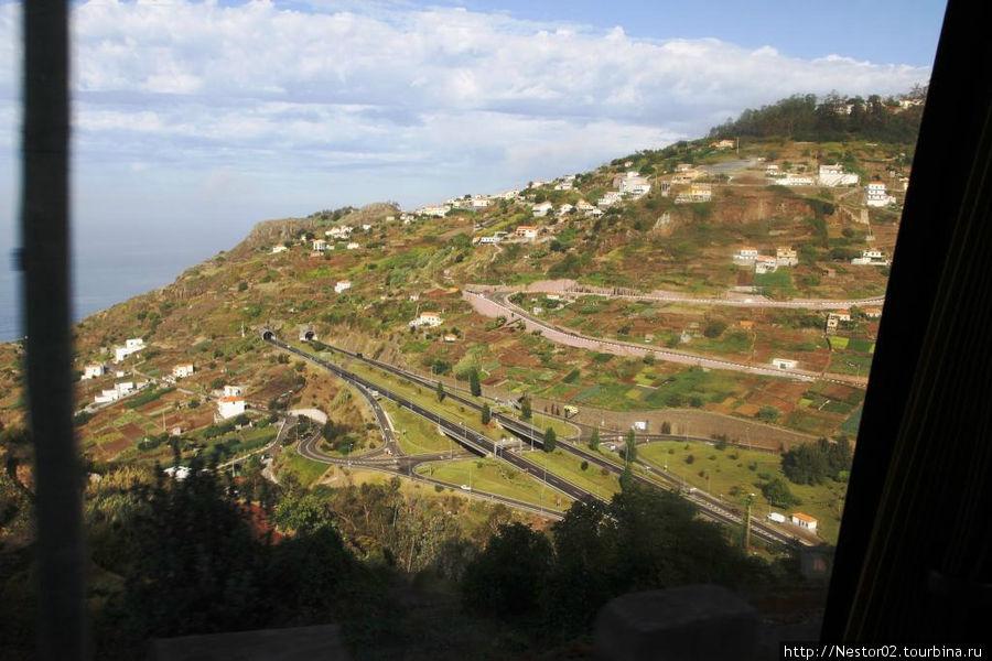 Мадейра. Горные дороги.