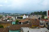 Вид на город из парка Хуарес