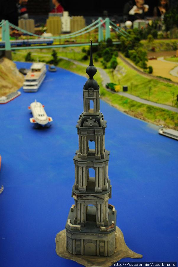 Колокольня Никольского собора (затопленная колокольня)
