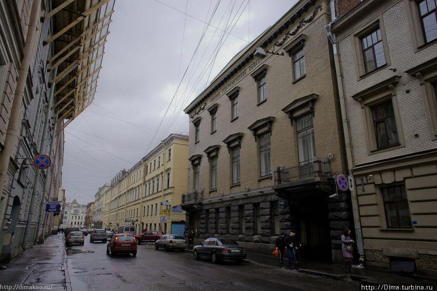 Здание Русского географического общества на переулке Гривцова