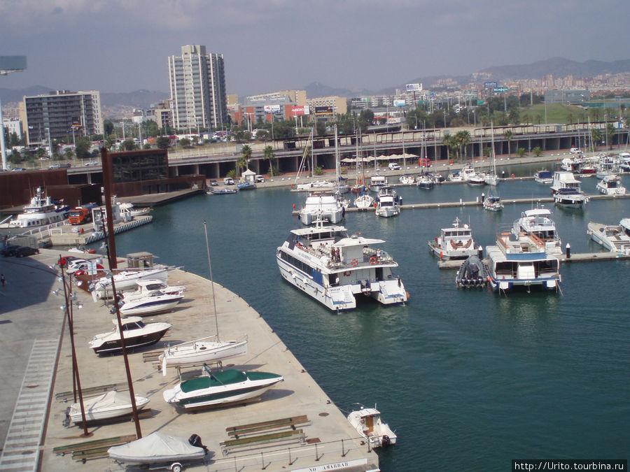 яхт-клуб в районе Форума