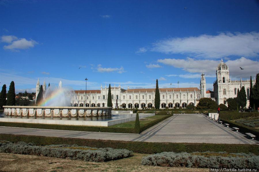 Лиссабон, Белен Монастырь Жеронимуш [Mosteiro dos Jeronimu]