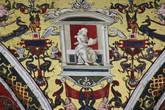 Гротески — деталь потолка библиотеки Сиенского собора