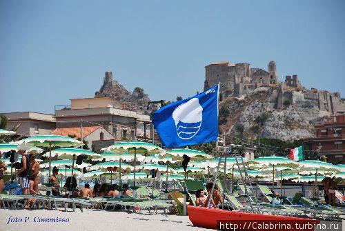 Пляж под Голубым флагом Роччелла-Ионика, Италия