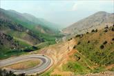 Дорога из Ташкента в Фергану. Высота около 2000 м.