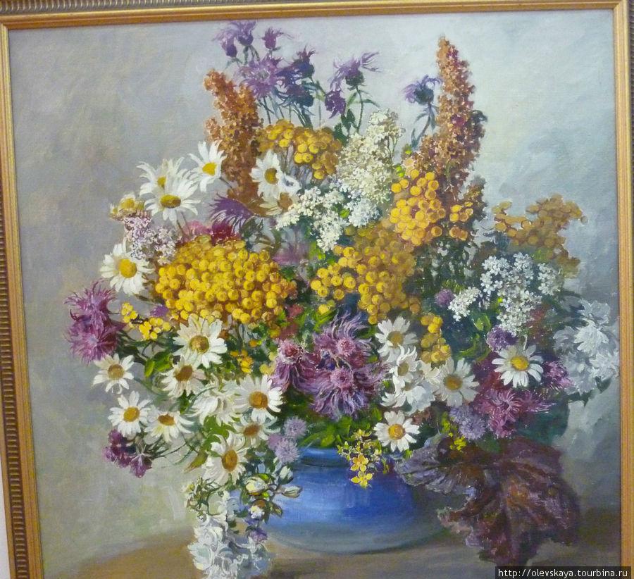 Вологодские полевые цветы от О.Бороздина