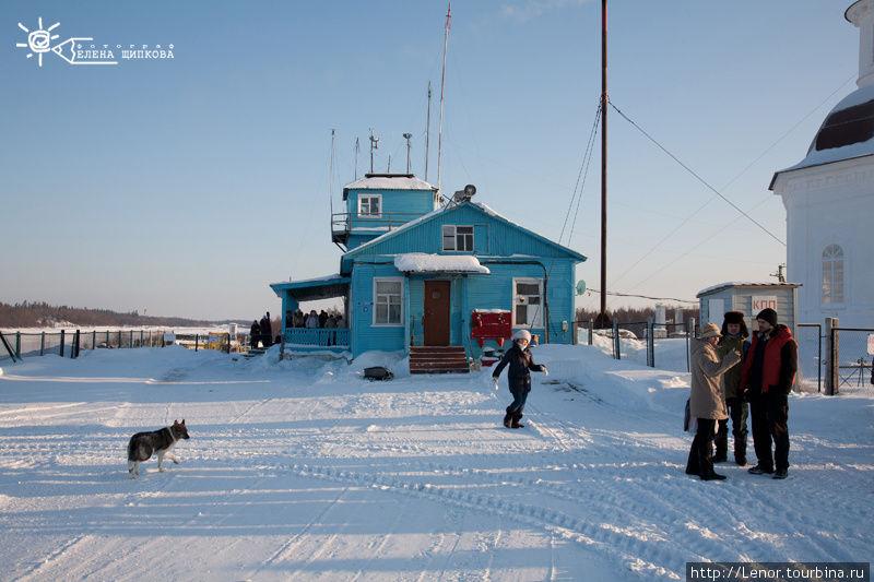 Аэропорт Соловки встречае