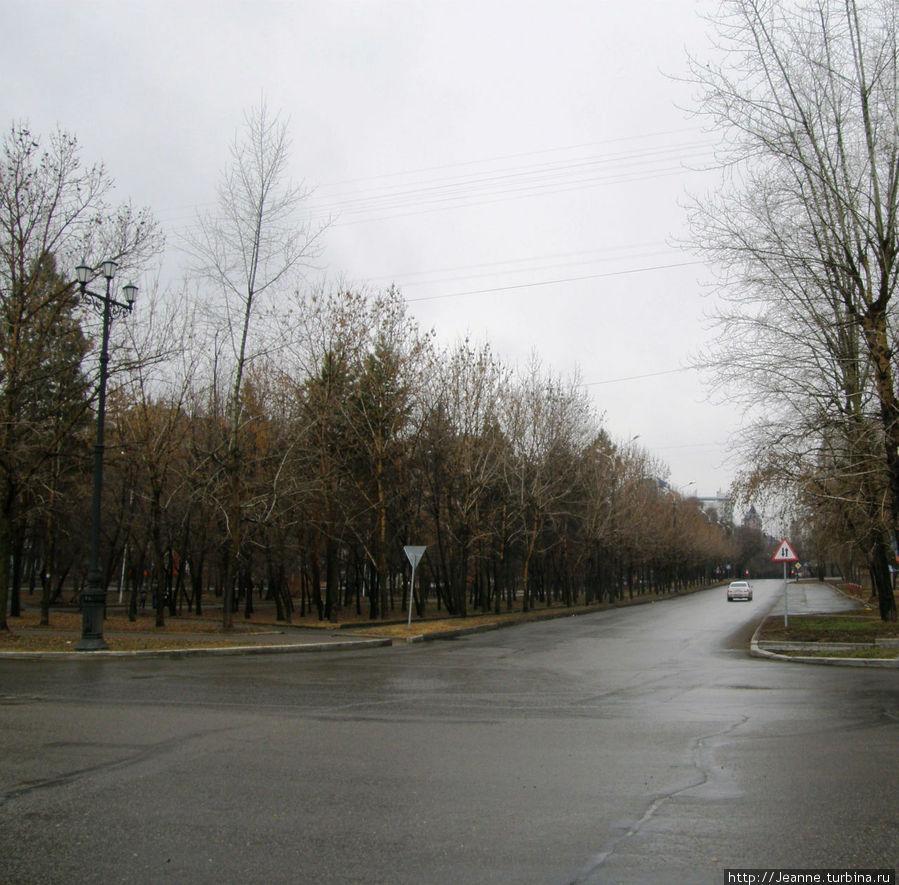 От Прудов перехожу на Уссурийский бульвар...