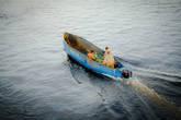 Лодка на Неве