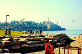 По дороге в Яффо из Тель- Авива.